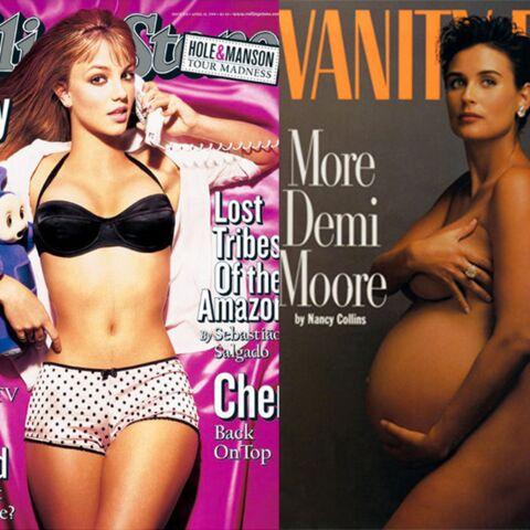 Demi Moore, Britney Spears, John Lennon: scandale à la une