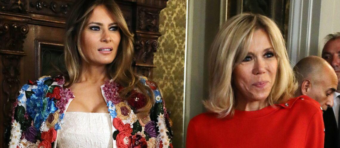 Melania Trump privée de shopping avec Brigitte Macron