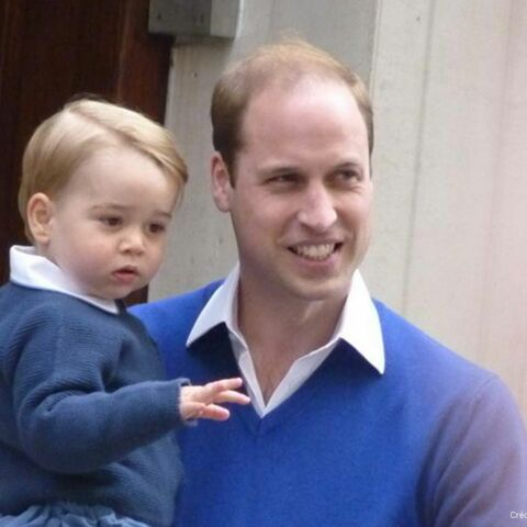Royal baby 2: George en visite à l'hôpital St Mary