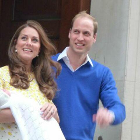 Kate et William ont présenté leur princesse