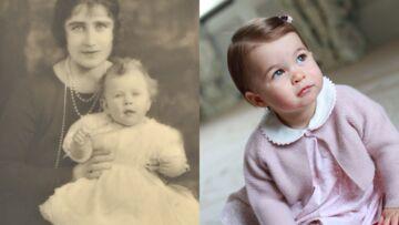 Elizabeth II: Charlotte lui ressemble comme deux gouttes d'eau