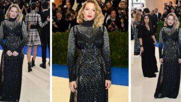 PHOTOS – Léa Seydoux: carré flou et robe scintillante pour la jeune maman au Met Gala