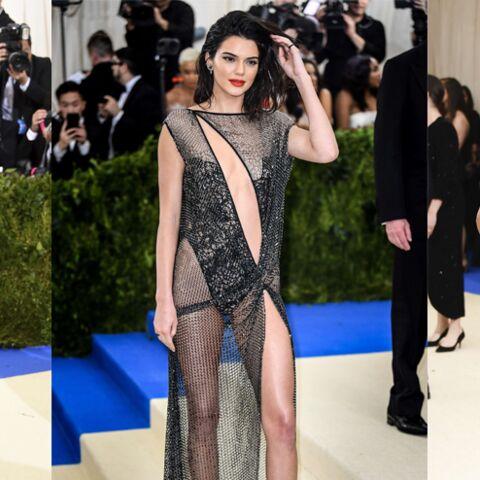 PHOTOS – Kendall Jenner, Halle Berry, Bella Hadid: jeu de transparence au Met Gala