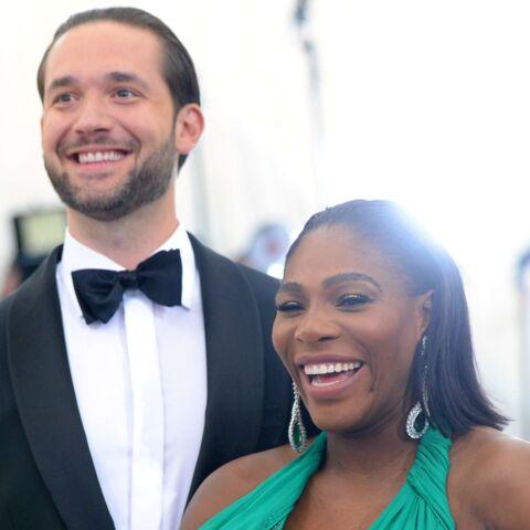 PHOTOS – Serena Williams très enceinte, sexy au côté de son amoureux au Met Gala