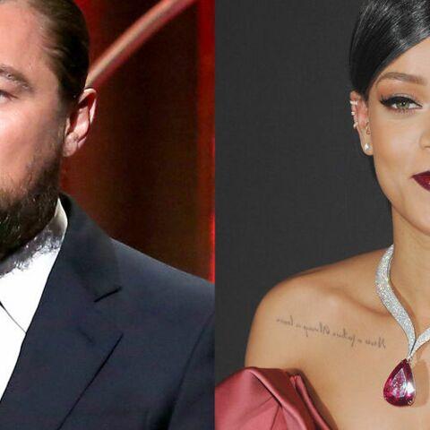 Leonardo DiCaprio et Rihanna: la première photo qui les réunit