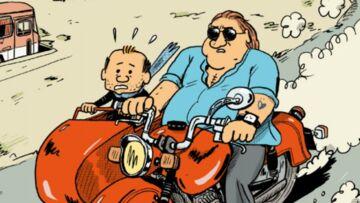 Gérard Depardieu devient le héros d'une bande dessinée