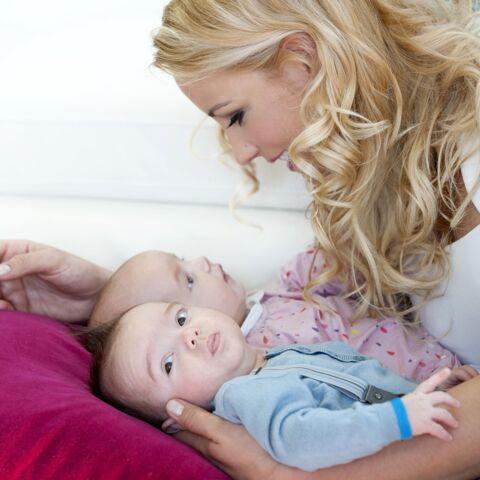 Elodie Gossuin a ses enfants dans la peau