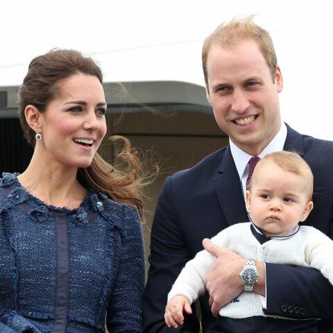 Kate, William et George ont leur cadre de remerciement