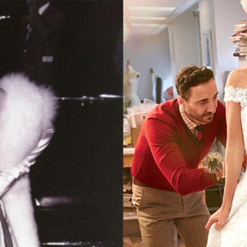 La dentelle d'Amal Alamuddin et de Marilyn Monroe