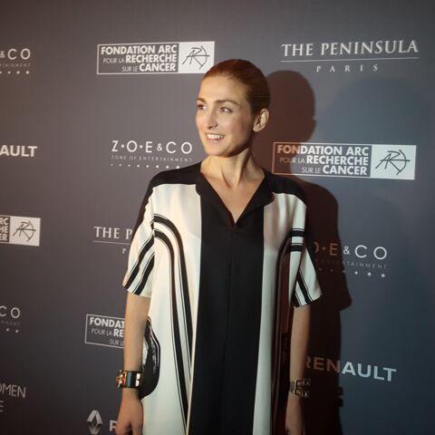 Julie Gayet, radieuse lors du Gala de la Fondation ARC