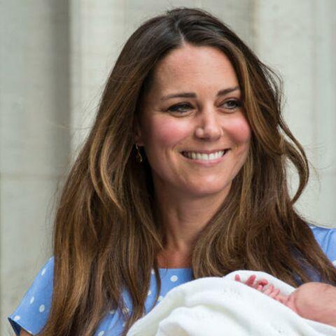 Kate et baby George en vacances