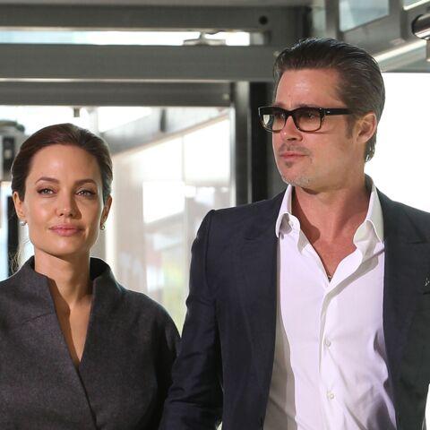 Brad Pitt et Angelina Jolie, les premières photos de leur mariage
