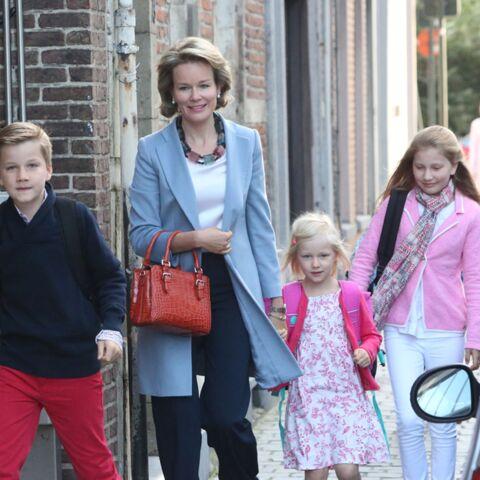 La cloche de l'école a sonné pour les familles royales