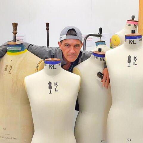 Antonio Banderas, tailleur de costards professionnel