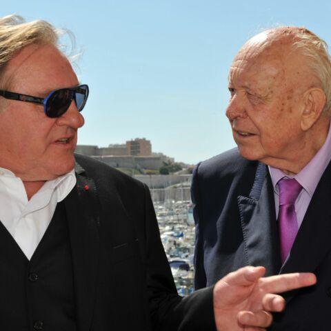 Gérard Depardieu tombe dans les bras de Jean-Claude Gaudin