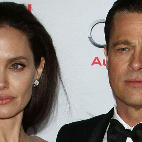 Noces de cuir discrètes pour Brad Pitt et Angelina Jolie