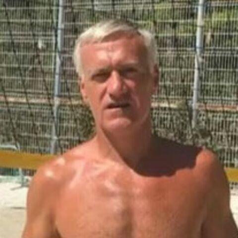 Didier Deschamps en slip de bain pour chambrer un ex-coéquipier