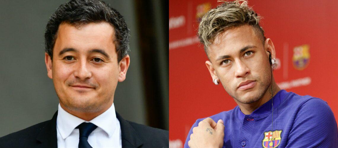 Le ministre Gérald Darmanin se réjouit de l'arrivée de Neymar, mais ce n'est pas pour le foot