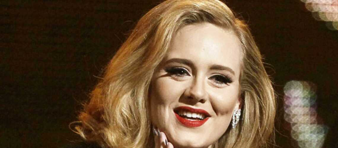 Adele au régime veggie
