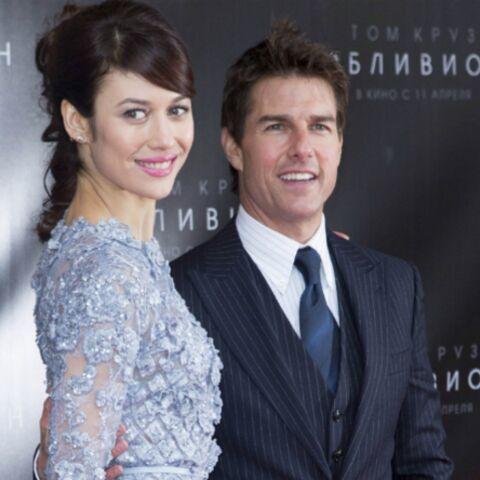 Tom Cruise très proche d'Olga