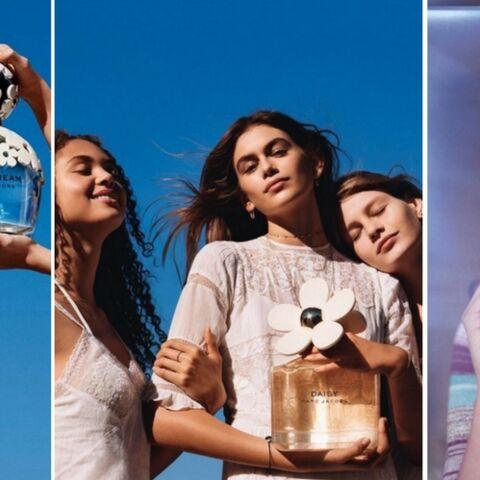 PHOTOS – Kaia Gerber est le sosie de sa mère, Cindy Crawford, dans la nouvelle campagne Marc Jacobs
