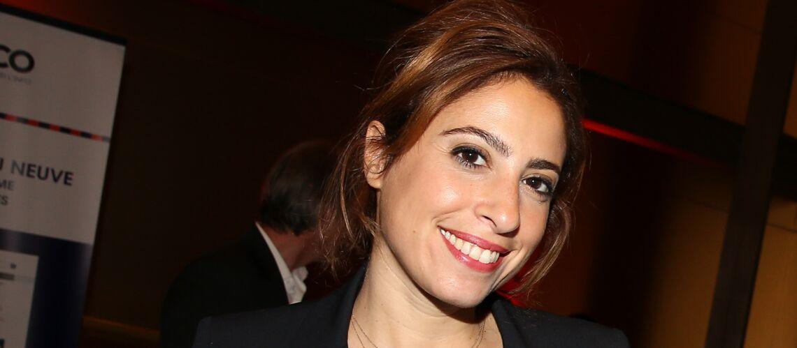 Léa Salamé déjà de retour à l'antenne, 3 semaines après la naissance de son petit Gabriel