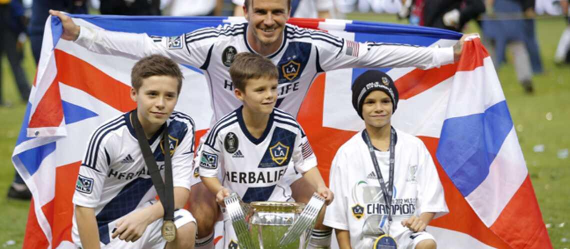 David Beckham fait briller sa victoire