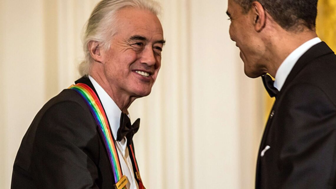 Led Zeppelin honoré par « Barock » Obama