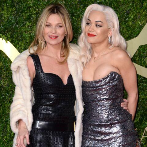 Photos- Kate Moss et Rita Ora, copines comme coquines
