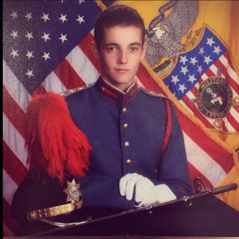 Le soldat Louis Sarkozy fait la fierté de sa famille
