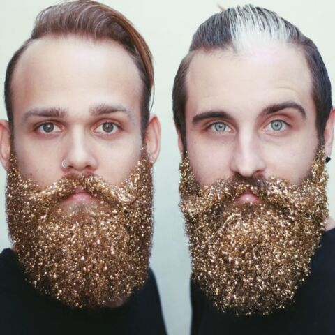 The Gay Beards: focus sur la barbe à paillettes