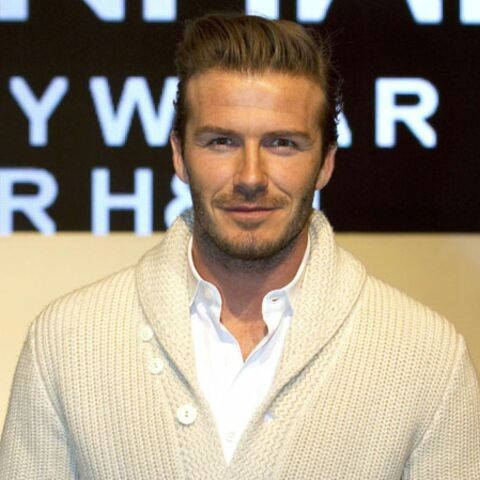 David Beckham, sans maillot et… sans pantalon!