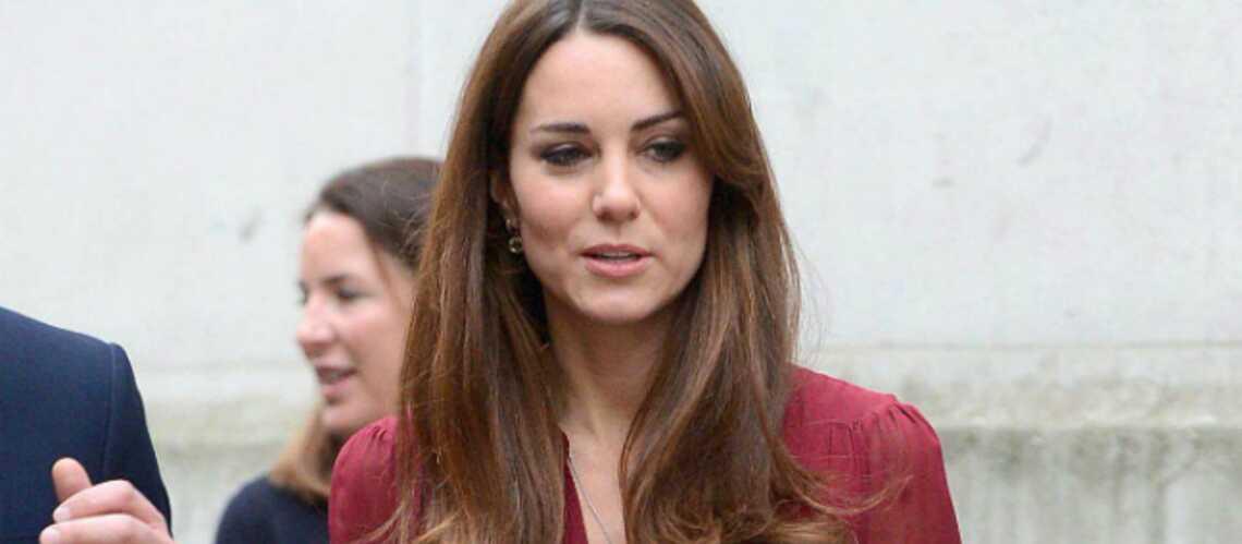 Premières photos de Kate enceinte, à Londres