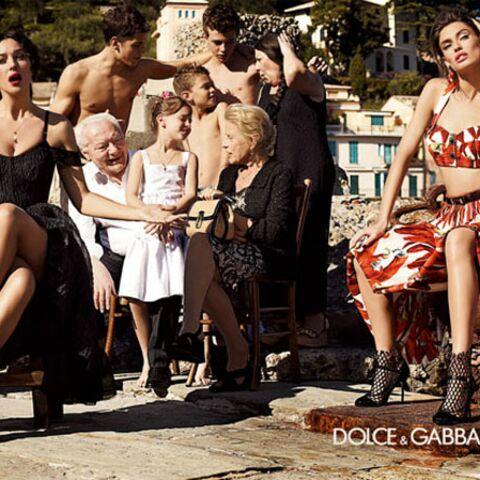 Monica Bellucci, mama sexy pour Dolce & Gabbana