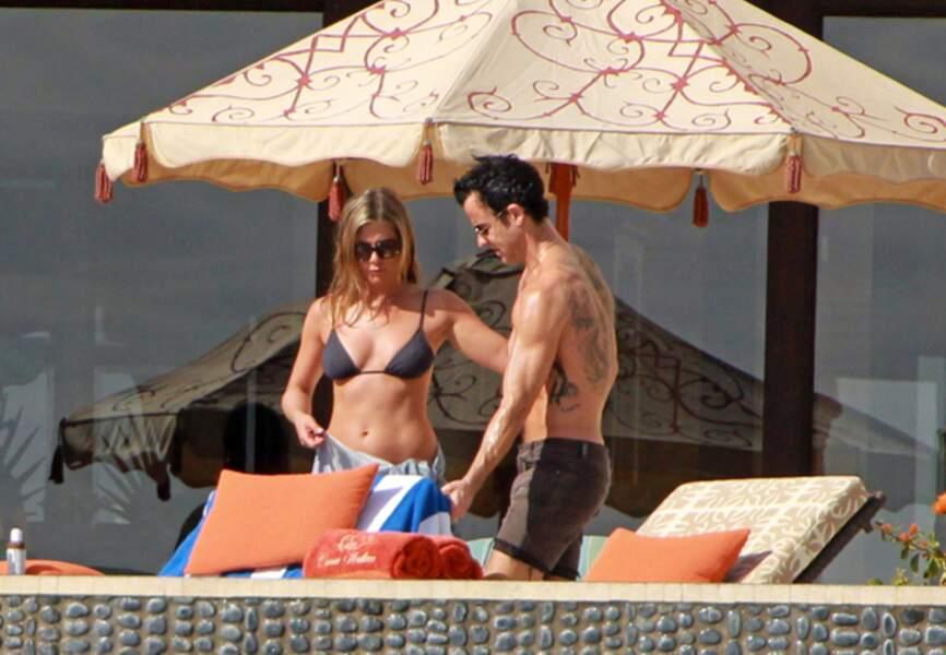 Jennifer Aniston et Justin Theroux à Cabo San Lucas