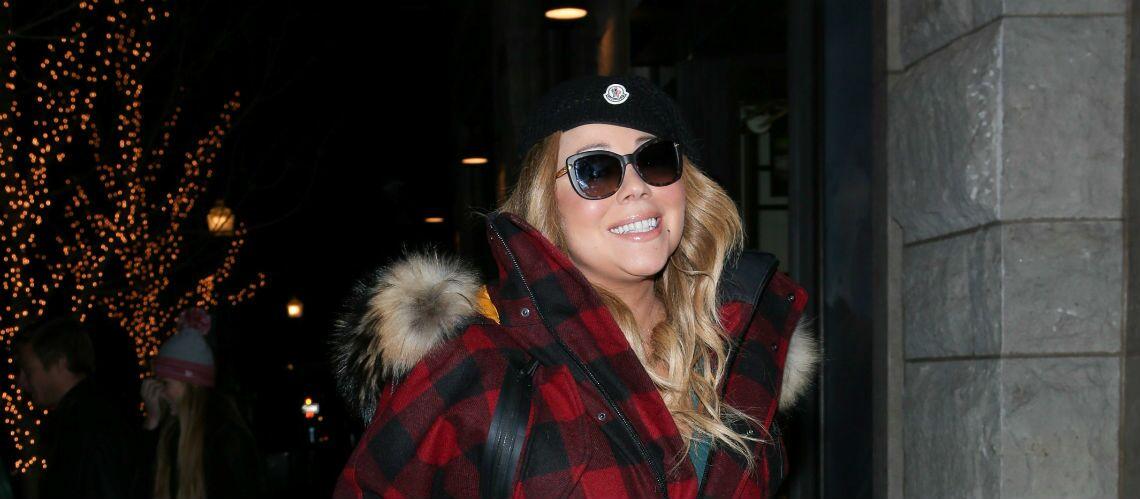 PHOTO – Mariah Carey se console du fiasco du nouvel an avec du cannabis