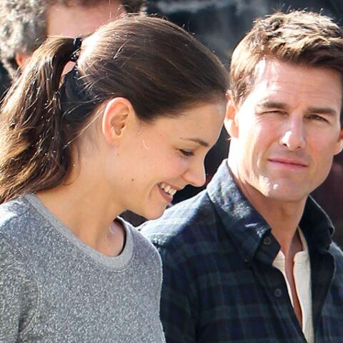Tom Cruise, toujours aussi amoureux de Katie Holmes