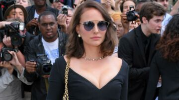 PHOTOS – Natalie Portman sexy en robe décolletée Dior