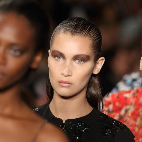 Bella Hadid: smoky néo-moderniste pour Dior