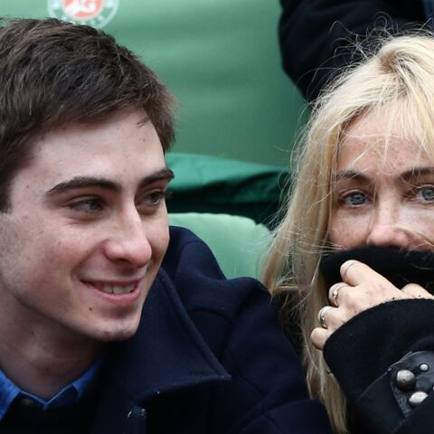 Emmanuelle Béart et Yohann: mère, fils et match