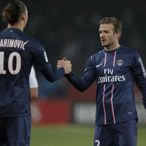 Zlatan Ibrahimovic se moque de la playlist de David Beckham