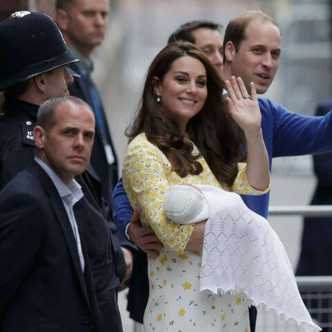 Kate et William dévoilent les noms des parrains de leur fille