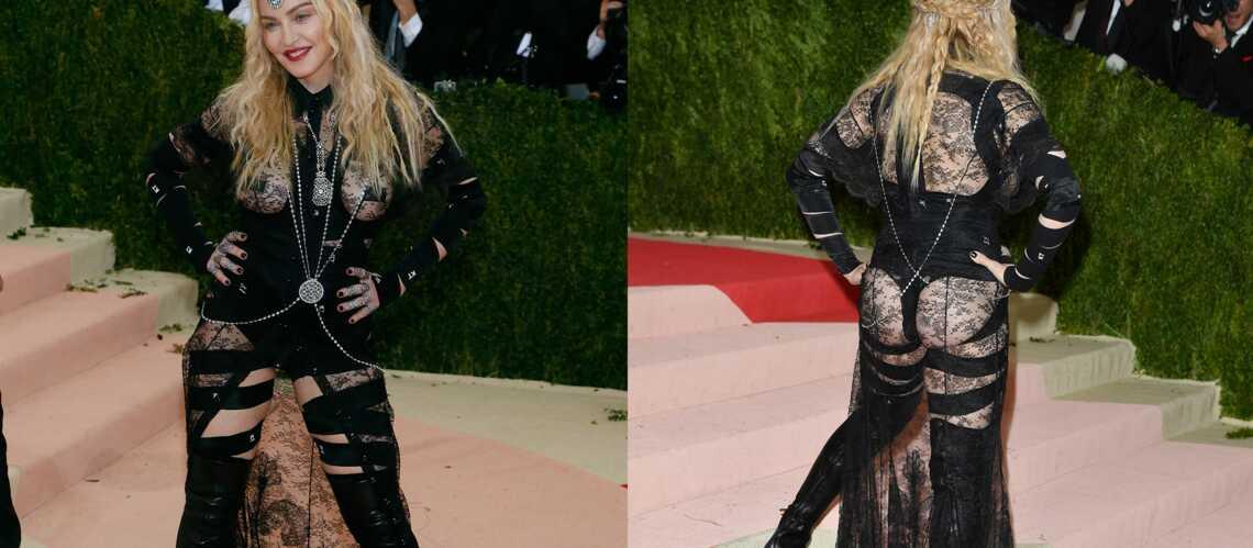 Madonna, SOS fesses en détresse