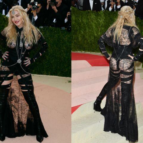 Madonna fesses à l'air: «Un choix politique pour changer l'Histoire»