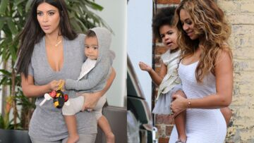 Le match des mamans: Kim Kardashian vs Beyoncé