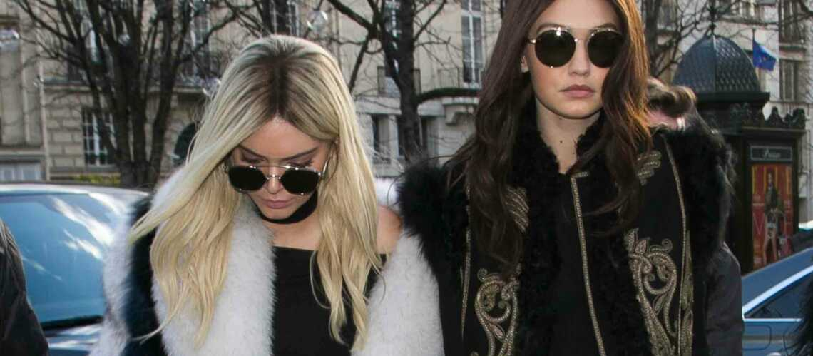 Paris Fashion Week: Kendall et Gigi changent de ton