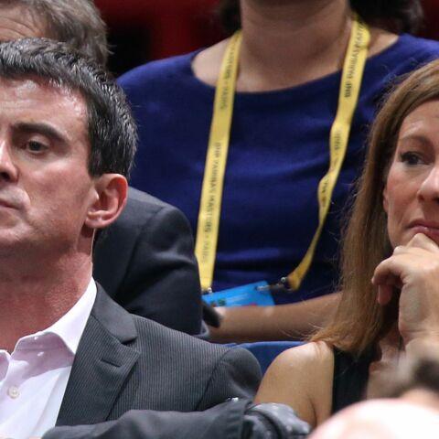 Week-end tennis pour Manuel Valls et Anne Gravoin