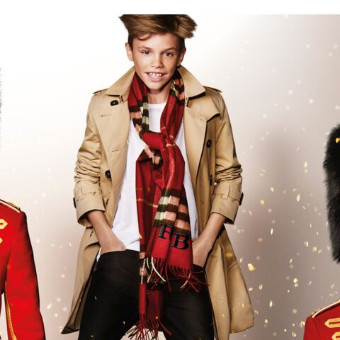 Romeo Beckham se la joue Billy Elliot pour Burberry