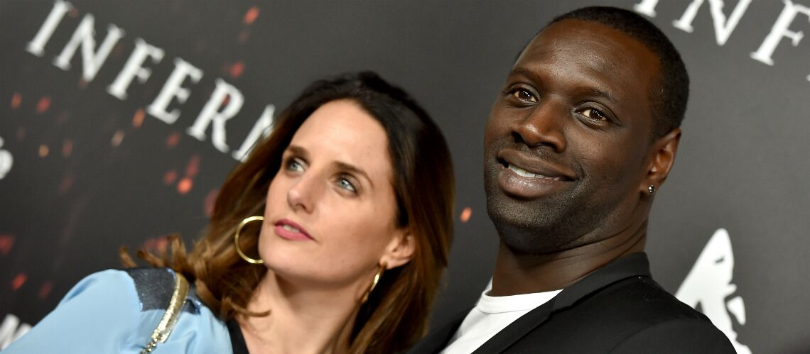 photo omar sy et son pouse h l ne d gui s s en grand m chant loup et petit chape ron rouge gala. Black Bedroom Furniture Sets. Home Design Ideas
