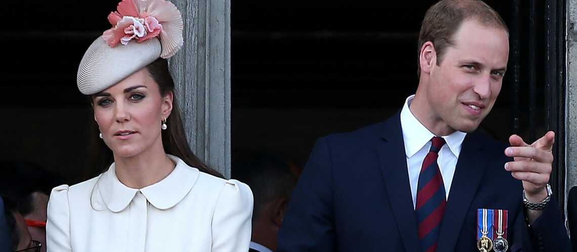 Kate et William menacent un photographe